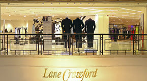 Da pista de crawford quadrado às vezes, Hong Kong Imagem de Stock Royalty Free