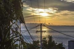 Da praia da barra de Guaratiba em Rio de janeiro imagens de stock royalty free