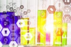 Da química vida ainda Meios mistos Foto de Stock
