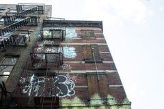 Da qualche parte in NY Immagini Stock