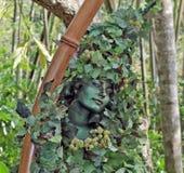 ` Da senhora da folha do ` no parque do reino animal, Walt Disney World, Orlando, Florida Imagens de Stock
