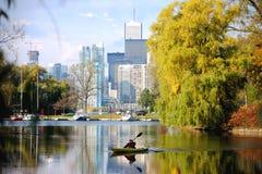 Da solo sull'isola di Toronto Fotografia Stock