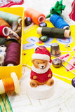 Da tecelagem e do ornamento Fotos de Stock Royalty Free