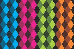 Da textura colorida do teste padrão do fundo recurso liso do gráfico de vetor Imagens de Stock Royalty Free