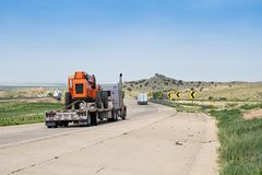 40 da uno stato all'altro New Mexico U.S.A. Immagini Stock