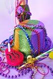 Da véspera 2011 do partido anos novos da vida ainda Fotografia de Stock Royalty Free