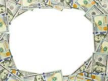 3:4 da vinheta do dólar Fotografia de Stock