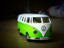 1:32 da VW Van Diecast Toys Car do vintage Imagem de Stock