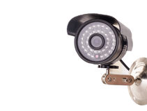 Día y noche cámara de vigilancia de la radio del color Fotografía de archivo libre de regalías