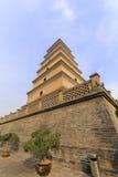 DA-Yan-Turm, luftgetrockneter Ziegelstein rgb Stockfotografie