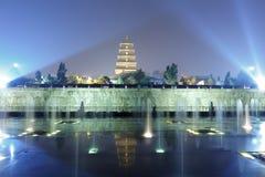 DA-Yan-Turmnachtsichtgerät, luftgetrockneter Ziegelstein rgb Stockfotografie