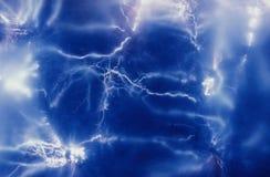 Daadwerkelijke foto van elektriciteit. Royalty-vrije Stock Fotografie