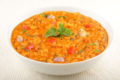 Daal Curry -spicy lentil soup Royalty Free Stock Photography
