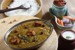 Daal Kadhi is a spicy dish from North India. Daal Kadhi is a spicy kadhi made of lentils and curd Stock Image
