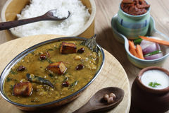 Daal Kadhi is a spicy dish from North India Royalty Free Stock Photos