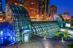 Daan park mrt station Royalty Free Stock Images