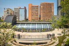 Daan Park MRT station of Taipei metro Royalty Free Stock Photography
