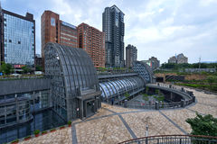 Daan Park Station, Taipei Stock Images