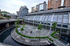 Daan Park Station, Taipei Stock Image