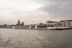 Daanube rejs Wiedeń Obraz Royalty Free