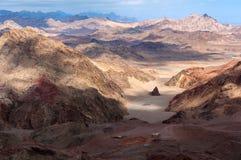 Daba Mountain in Binnenmongolië China Stock Foto