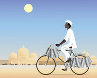 Dabbawalla Stock Photo
