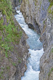 Daber gorge in Tyrol Stock Images