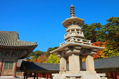 Dabotap Pagoda, Gyeongju, South Korea stock photo