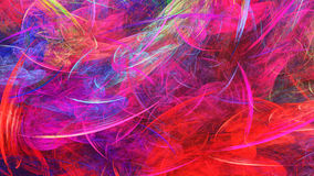 Dabs of paint. Swirling clouds. Royalty Free Stock Images
