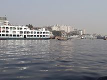 Dacca, fiume di Borigong immagine stock libera da diritti