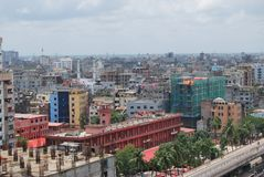 DACCA VIEJA DE BANGLADESH Lugar histórico Imagenes de archivo