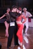Dace Championship artístico europeo Foto de archivo libre de regalías