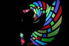 Dace von Lichtern Lizenzfreie Stockbilder