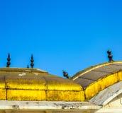 Dachów szczegóły czerwony fort Fotografia Stock