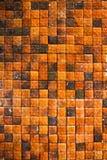 dachówkowa ściana Fotografia Royalty Free