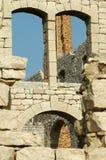 Dachówkowa fabryka Ruins1 Obrazy Royalty Free