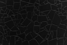 Dachówkowa mozaika czarny kolor ilustracji