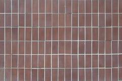 Dachówkowego cerama geometrii terakotowy prostokąt zdjęcie royalty free