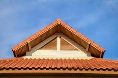 Dachówkowego dachu tekstura Obrazy Stock