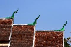 Dachówkowego dachu tekstura Zdjęcia Royalty Free
