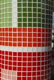 Dachówkowi mozaik tła obraz stock