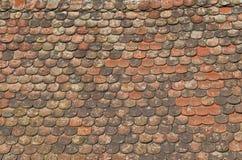 Dachówkowy dach Zdjęcia Stock