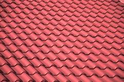 Dachówkowy dach Obrazy Royalty Free