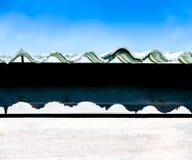 Dachówkowy dekarstwo Zdjęcie Royalty Free