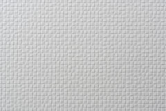Dachówkowy mozaika biel Zdjęcie Royalty Free