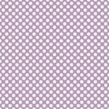 Dachówkowy wektoru wzór z białymi polek kropkami na pastelowym fiołek menchii tle Zdjęcie Stock