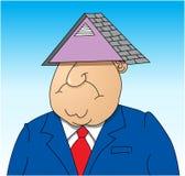 Dach über seinem Kopf Lizenzfreies Stockfoto