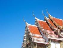 Dach świątynia Obrazy Royalty Free