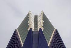 Dach Agoràbudynek w mieście sztuki i nauka, Valenci Zdjęcia Stock