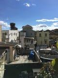 Dach-Ansicht in das Herz der Sheepshead-Bucht Stockbild